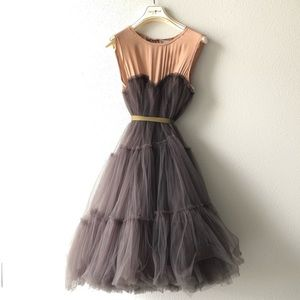 Designer Runway Lanvin for H&M Tulle Dress S6
